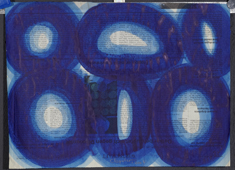 o.T., Acryl auf Papier, 29 x 38 cm, 2005_2