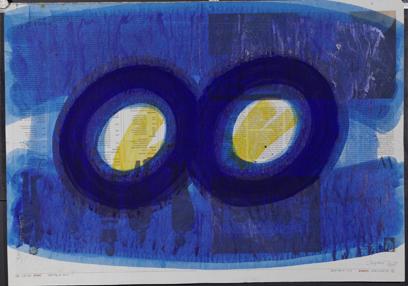 o.T., Acryl auf Papier, 56 x 78 cm, 2005_1