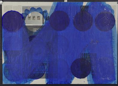 o.T., Acryl auf Papier, 56 x 78 cm, 2006_1